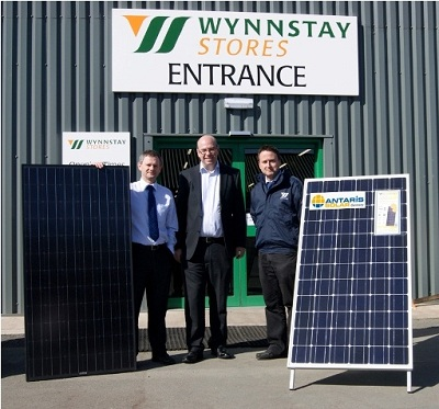Antaris Solar - Partnerschaft mit Wynnstay Group PLC