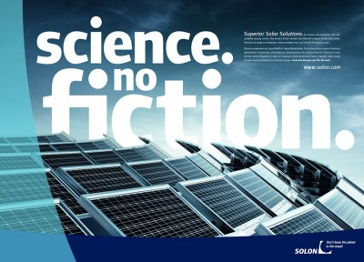 SOLON: Science no fiction